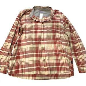 Patagonia Long Sleeve Birdshot Button Up Shirt